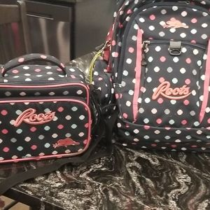 Dual Backpack and lunchbox (sold together)